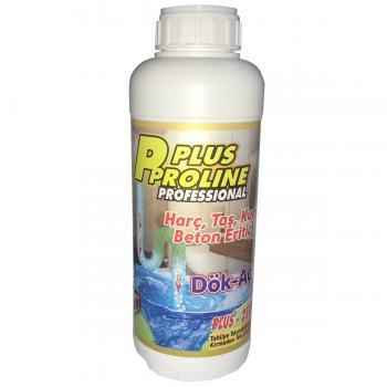 Plus Proline Lavabo Açıcı Dök Aç Harç Beton Taş Kum Eritici 1 lt