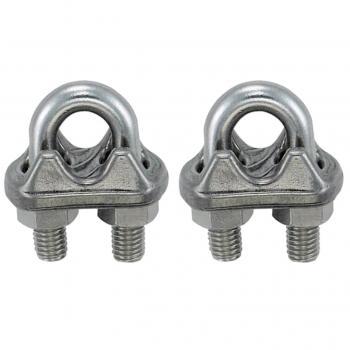 6 mm Çelik Halat Klemensi A Tip 2 ADET