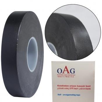 OAG Kendinden Eriyen Bant Yalıtım Bandı 19mm 0,76mm 8 mt