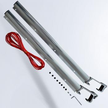 Asvera Küpeşte Balkon Çamaşır Kurutma Askısı Kurutmalık 6 cm