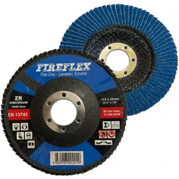 FireFlex 115x22 mm Zirkonyum Flap Disk Zımpara 60 Kum