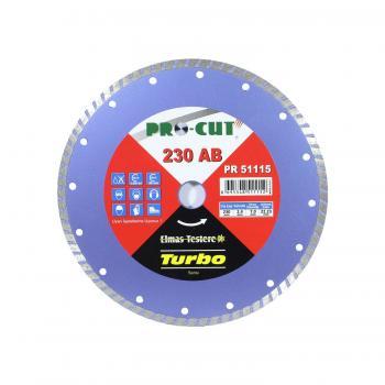 Procut Pro-Cut PR-51115 230AB Turbo Kanallı Elmas Testere 230 mm