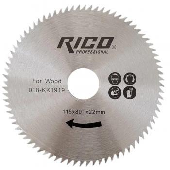Rico 018-KK1919 Ahşap Kesme Testeresi Taşlama Makinesi 115x22x80