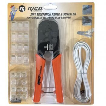 Rico Bilgisayarcı Jack Pensesi Ağ Ethernet Kablo RJ45 RJ11