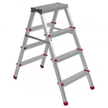 Asvera 4+4 Basamak Çift Çıkışlı Merdiven