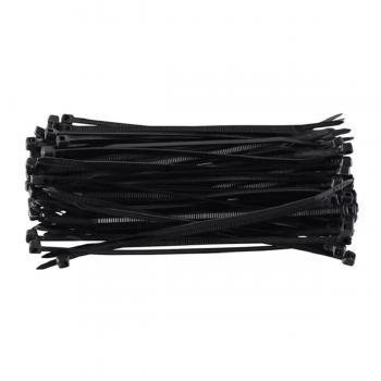 100 Adet Siyah Kablo Bağı Plastik Cırt Kelepçe Klips 3,6x370 mm