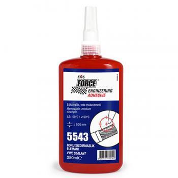 Ems Force 5543 Boru Sızdırmazlık Elemanı Sıvı Conta Keten 250 ml