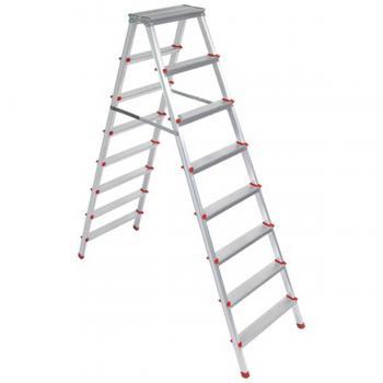 Asvera 8+8 Basamak Çift Çıkışlı Merdiven
