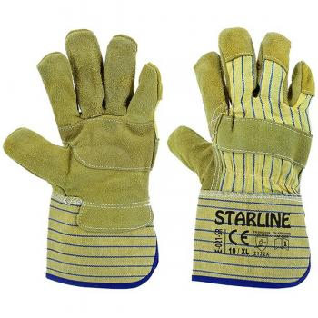 Starline E021-SR Takviyeli Deri İş Eldiveni XL/10