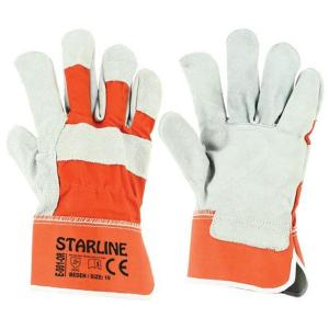 Starline E-001-OR Yarma Deri İş Eldiveni XL/10