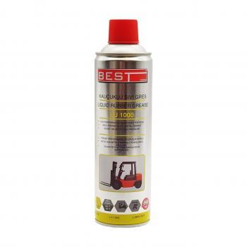 Best LU1000 Kauçuk Sıvı Gres Sprey 500 ml Ağır Yük Ve Hava Koşullarında En İyi Performans