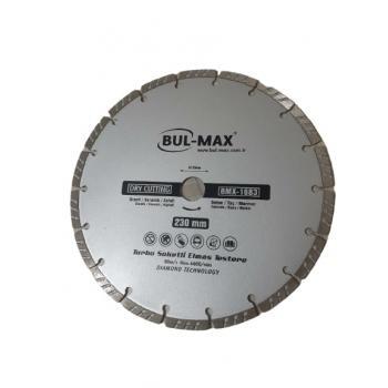 Bmx-1683/ Bulmax 230mm Turbo Soketli Granit, Beton, Mermer, Seramik Elmas Testere
