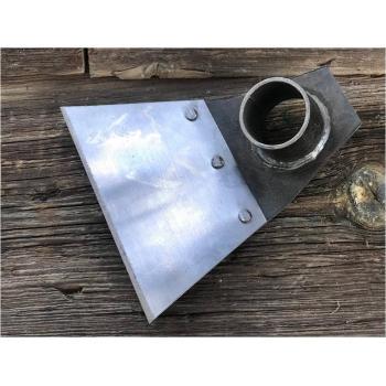 Perçinli Çelik Çapa Tek Taraflı 12x13 cm