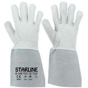 Starline E-102 Argon Kaynak Kaynakçı Eldiveni 35 cm 10
