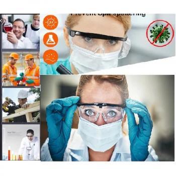 Koruyucu Gözlük - Genel Kullanım Laboratuvar - Sap Açısı Ayarlı