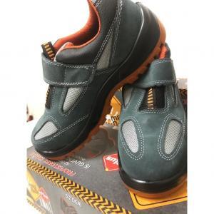 May Safe Çelik Burunlu Süet İş Güvenlik Ayakkabı Çift Taban