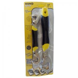 Nano Grip Akıllı Anahtar Pense Kurbağacık İngiliz Anahtarı Seti 2li 9-32 mm