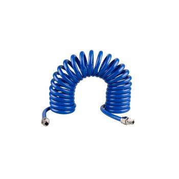 Poliüretan Spiral Hortum 5x8 Mm 5m Gaz Hava Hortumu
