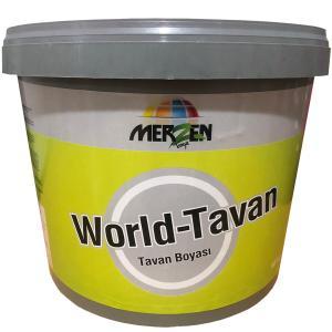 Merzen World Tavan Boyası Beyaz 10 Kg