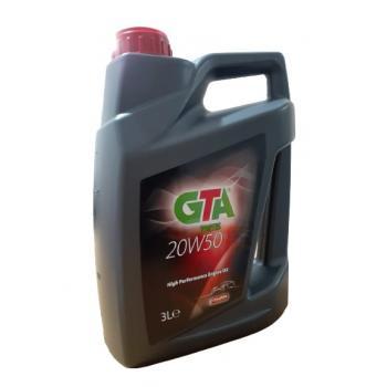GTA FORTIS MARKA 20W-50 MOTOR YAĞI 3 LT