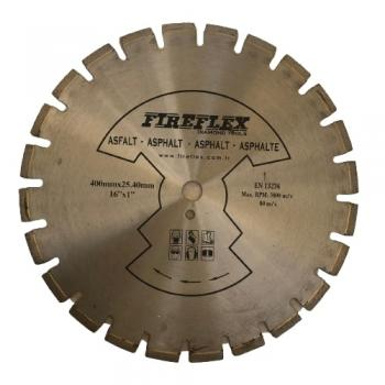 Fıreflex Asfalt Kesme 400x 25.40 mm - 16 x 1